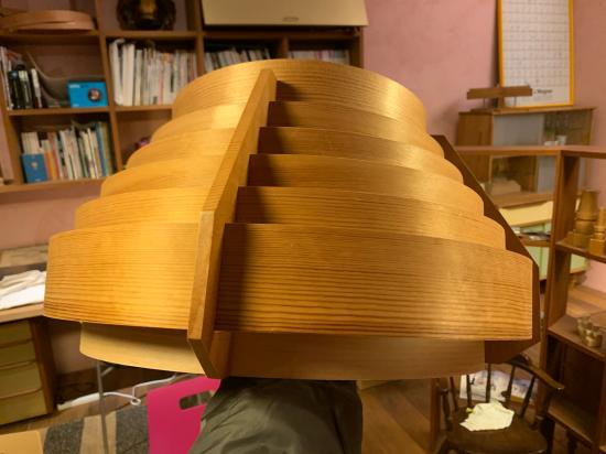 ヤコブセンランプ名作 JAKOBSSON LAMP 照明器具 修理 35_f0053665_00432657.jpg