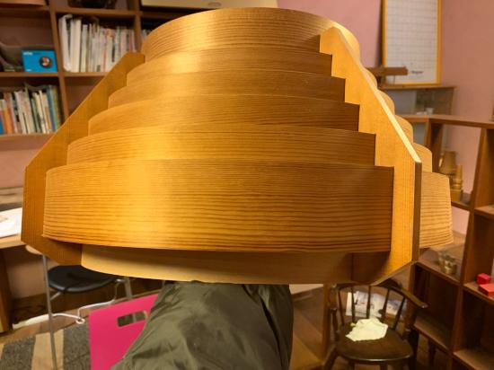 ヤコブセンランプ名作 JAKOBSSON LAMP 照明器具 修理 35_f0053665_00432728.jpg