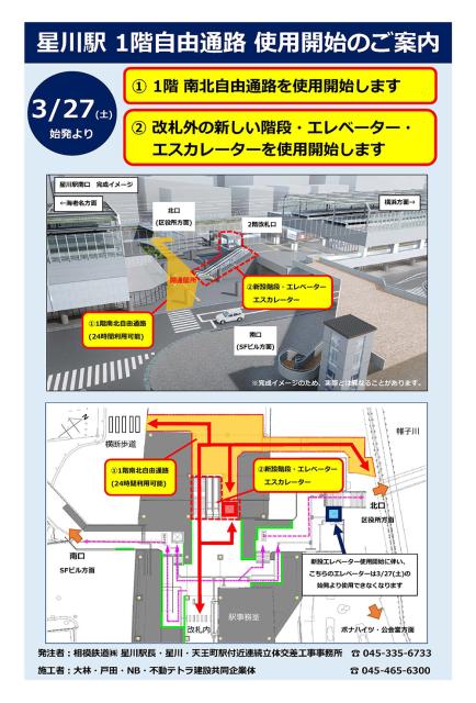 星川駅の自由通路_a0003293_20302681.jpg