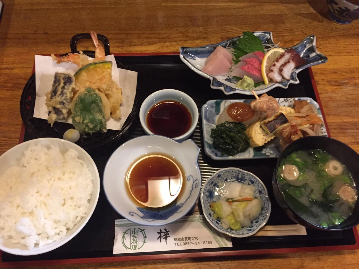 ふぐ料理・季節料理 梓  ランチ_e0115904_23464954.jpg