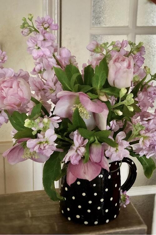 ピンクの花束\\♡︎/_a0213806_19405901.jpeg