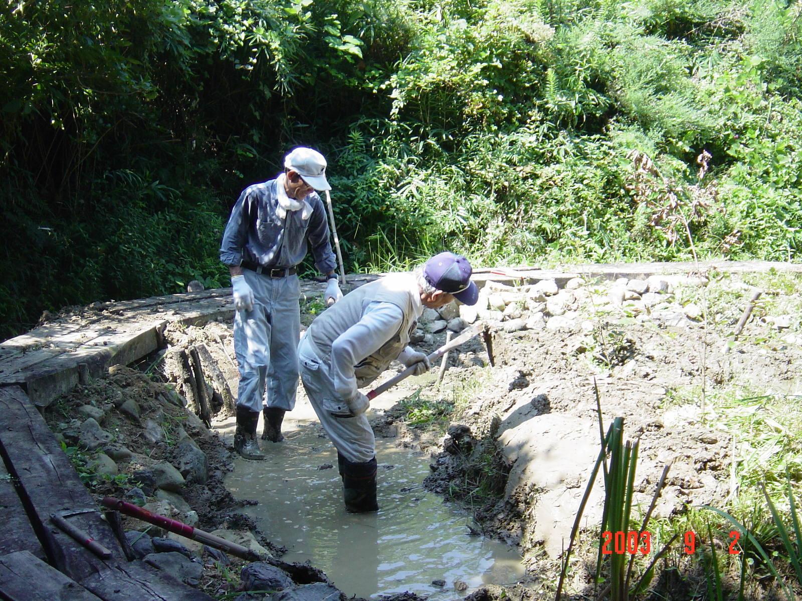 うみべの森の歴史⑮「2003年9月の活動」_c0108460_11261082.jpg