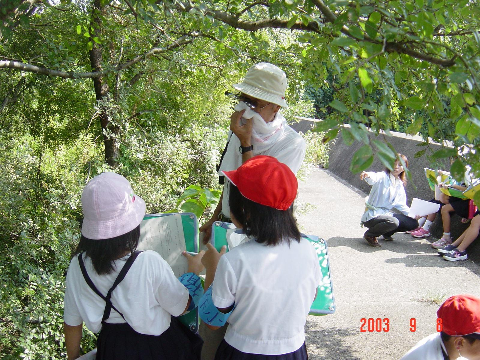 うみべの森の歴史⑮「2003年9月の活動」_c0108460_11403755.jpg
