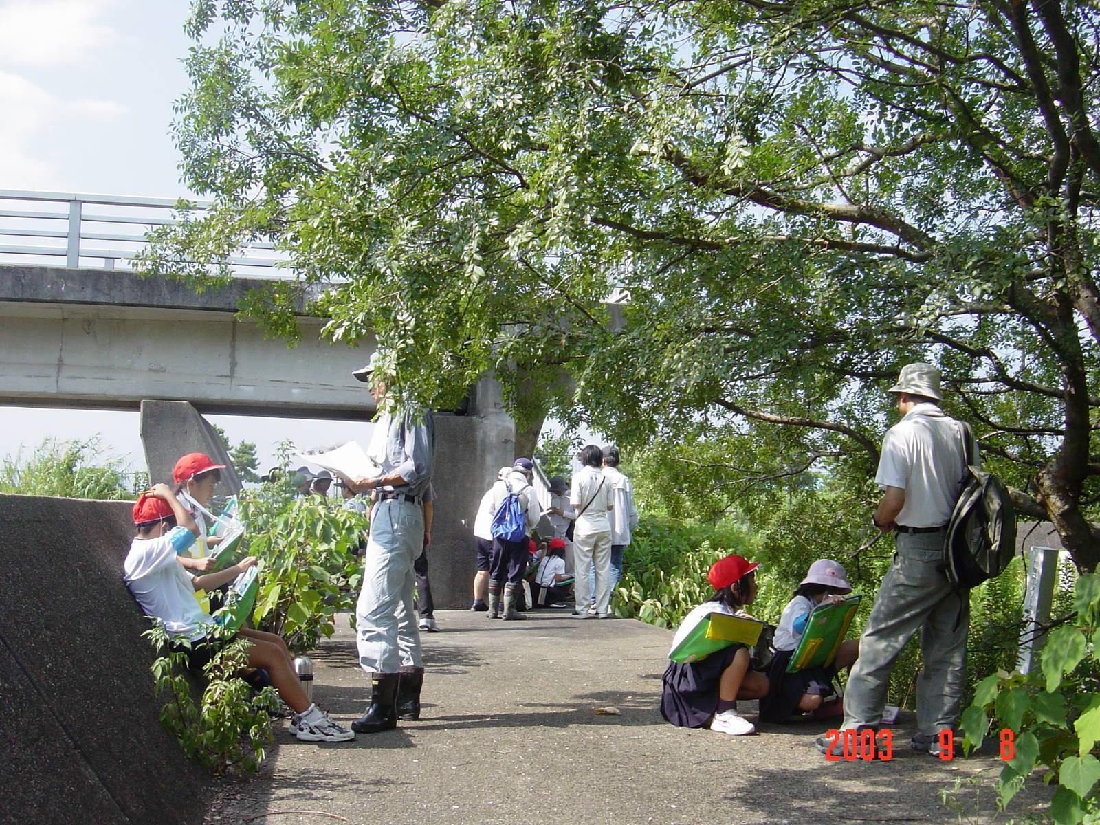 うみべの森の歴史⑮「2003年9月の活動」_c0108460_11415948.jpg