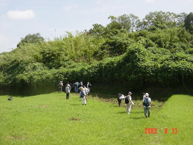 うみべの森の歴史⑮「2003年9月の活動」_c0108460_12111594.jpg