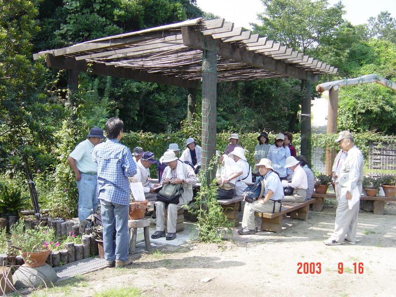 うみべの森の歴史⑮「2003年9月の活動」_c0108460_12182872.jpg