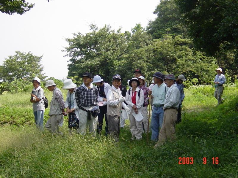 うみべの森の歴史⑮「2003年9月の活動」_c0108460_12194981.jpg