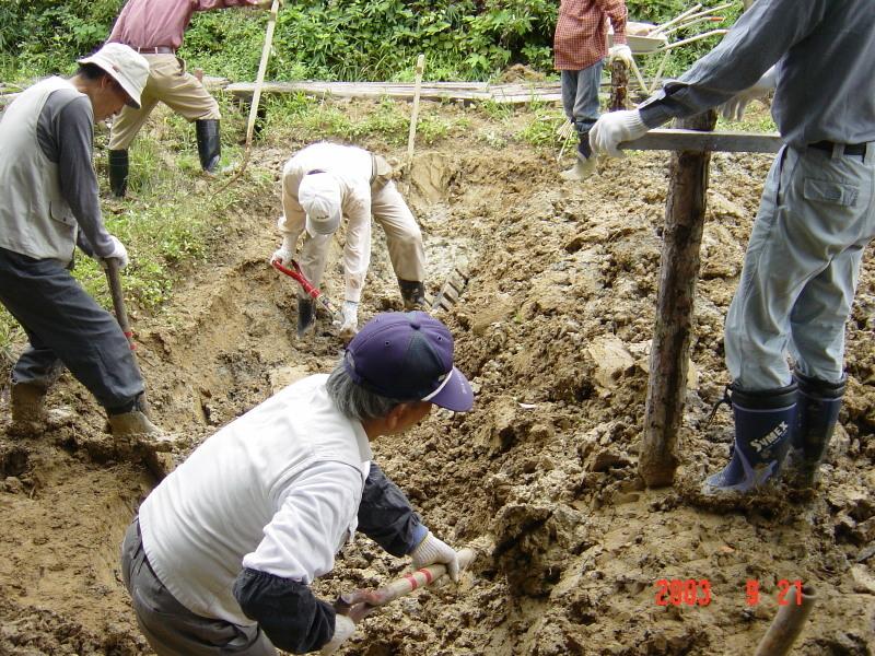 うみべの森の歴史⑮「2003年9月の活動」_c0108460_12212703.jpg
