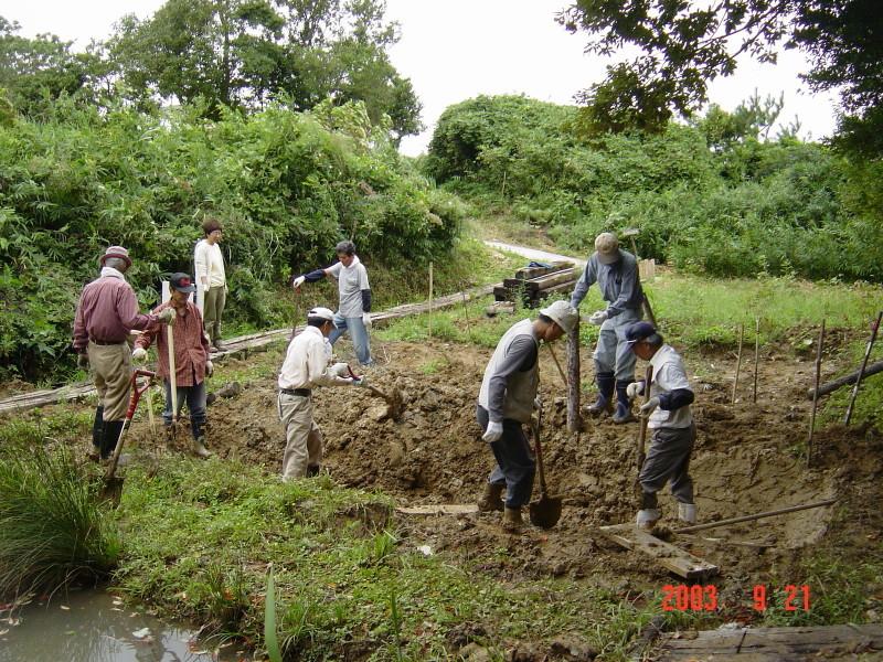 うみべの森の歴史⑮「2003年9月の活動」_c0108460_12212755.jpg