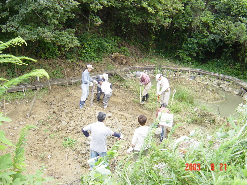 うみべの森の歴史⑮「2003年9月の活動」_c0108460_12212801.jpg