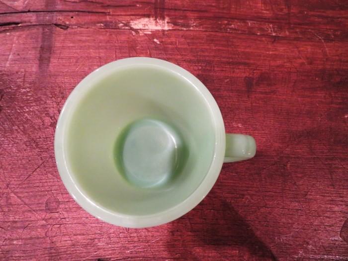 60\'s Fire King D-Handle Mug Jade-ite ジェダイ_e0187362_14411191.jpg