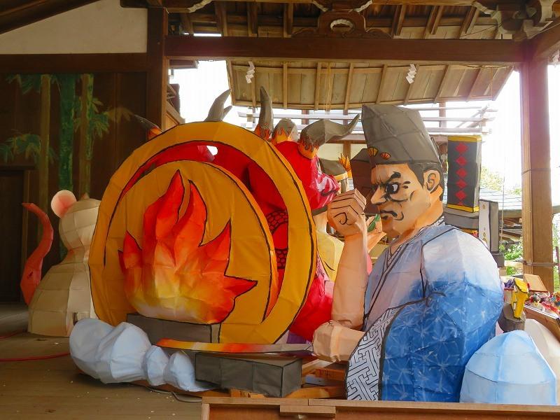 粟田神社の粟田祭を彩る「粟田大燈呂」20210301_e0237645_23270905.jpg