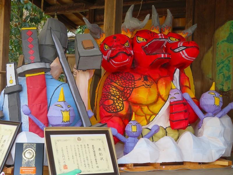 粟田神社の粟田祭を彩る「粟田大燈呂」20210301_e0237645_23270986.jpg