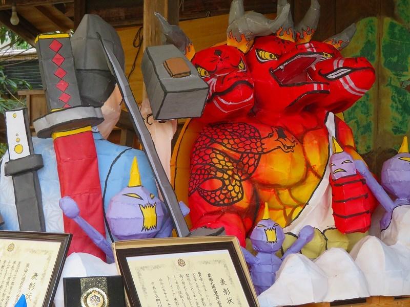 粟田神社の粟田祭を彩る「粟田大燈呂」20210301_e0237645_23294804.jpg