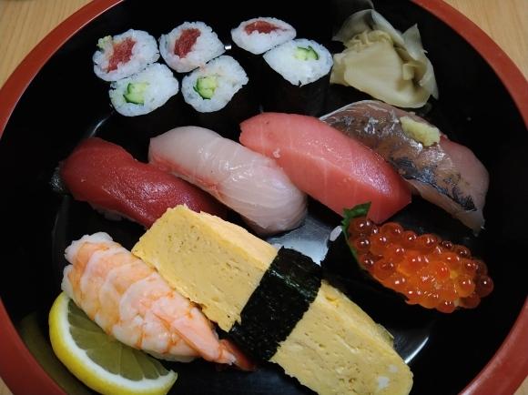 3/4 鯉寿司のにぎり寿司@目黒区_b0042308_19244112.jpg