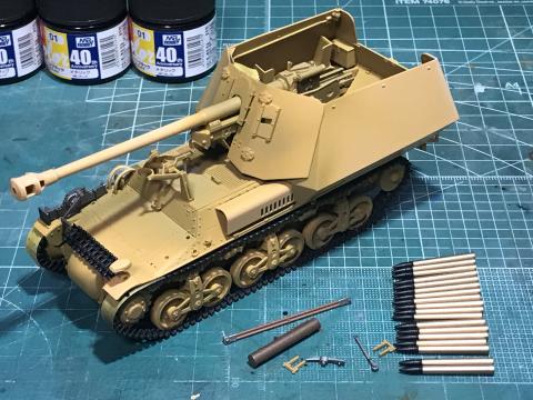 タミヤ 1/35 ドイツ対戦車自走砲マーダーI (完成)_b0055614_23454817.jpg