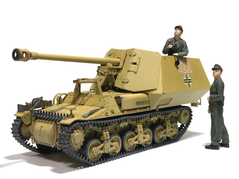タミヤ 1/35 ドイツ対戦車自走砲マーダーI (完成)_b0055614_23455321.jpg