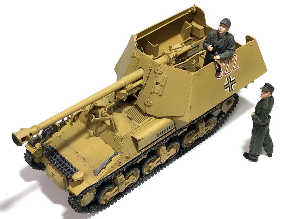 タミヤ 1/35 ドイツ対戦車自走砲マーダーI (完成)_b0055614_23455660.jpg