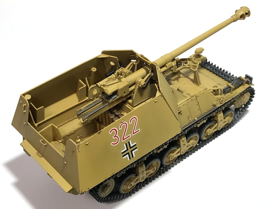 タミヤ 1/35 ドイツ対戦車自走砲マーダーI (完成)_b0055614_23455924.jpg