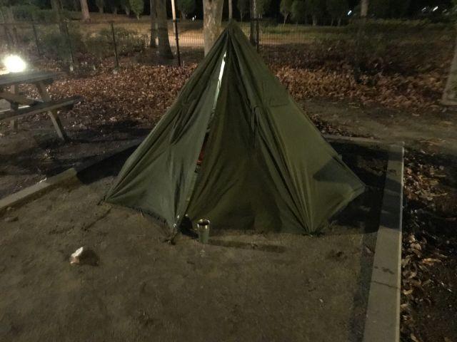 塗装ブースと鶴見緑地キャンプ_a0164918_11160915.jpg