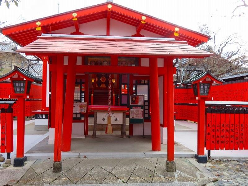 車折神社の「芸能神社」2021303_e0237645_23234095.jpg
