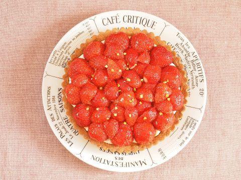 イチゴのお菓子~タルト オ フレーズ_c0213947_17361496.jpg