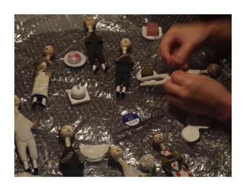 明日より経塚真代さん展示会、しゅうさんの和菓子販売がはじまります。_d0268070_21142577.jpg