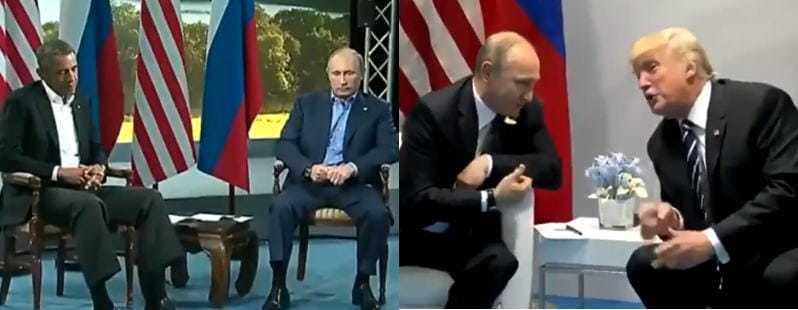 オバマとトランプ大統領の対応の違いが笑えます😁 - UFO宇宙人は実在する