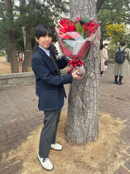 遂に!光太朗が社会人になりました!!!高校卒業おめでとう!!!!!!!_d0106911_11534566.jpg