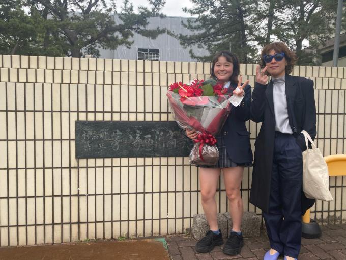 遂に!光太朗が社会人になりました!!!高校卒業おめでとう!!!!!!!_d0106911_11542320.jpg
