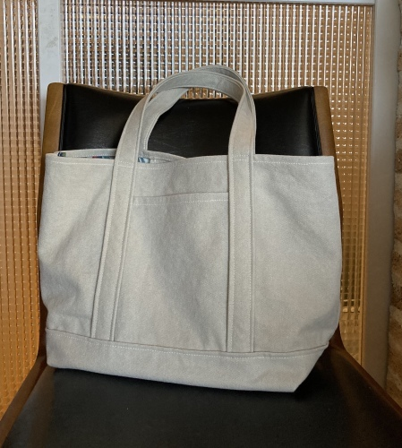 8号帆布トートバッグ Lサイズ 本日予約販売開始します _c0131818_11111982.jpeg