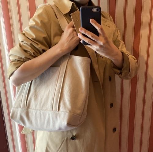 8号帆布トートバッグ Lサイズ 本日予約販売開始します _c0131818_11145952.jpeg
