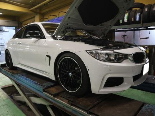 BMW420,ローダウンです_e0188729_18244221.jpg
