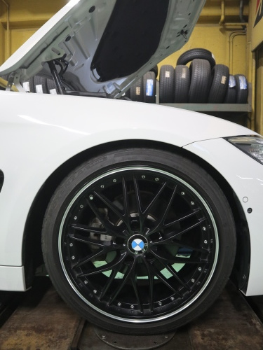 BMW420,ローダウンです_e0188729_18244327.jpg