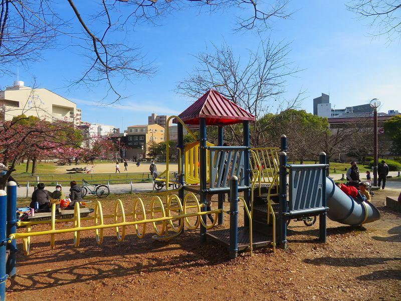 京都ぶらり街歩き(④松原公園の桜)20210228_e0237645_10513138.jpg