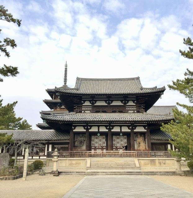 奈良の旅 14 贅沢なひととき 法隆寺_a0092659_16462417.jpeg