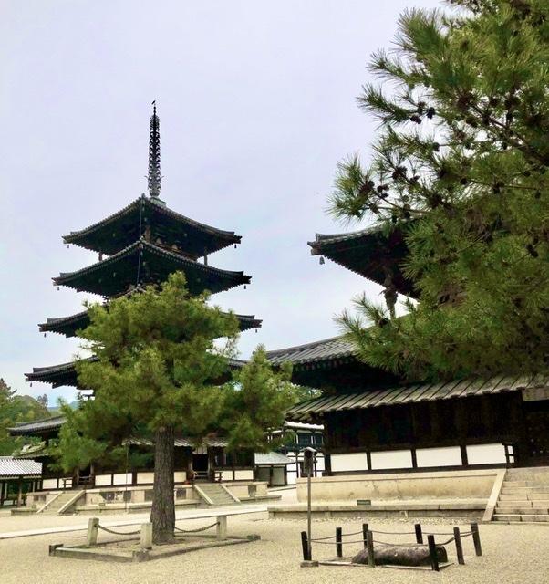 奈良の旅 14 贅沢なひととき 法隆寺_a0092659_16485606.jpeg