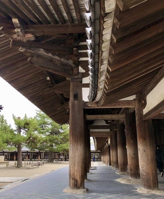 奈良の旅 14 贅沢なひととき 法隆寺_a0092659_17080687.jpeg