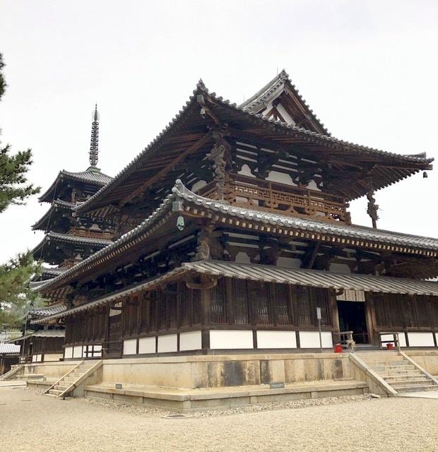 奈良の旅 14 贅沢なひととき 法隆寺_a0092659_17093940.jpeg