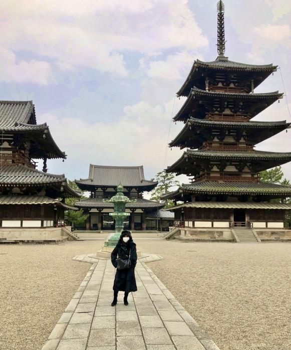 奈良の旅 14 贅沢なひととき 法隆寺_a0092659_17104684.jpeg