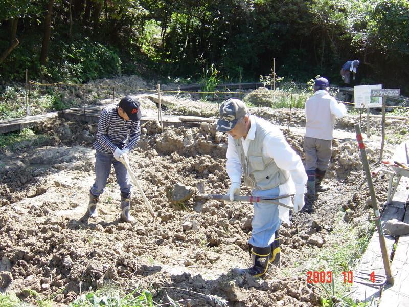 うみべの森の歴史⑯「2003年10月の活動」_c0108460_11450180.jpg