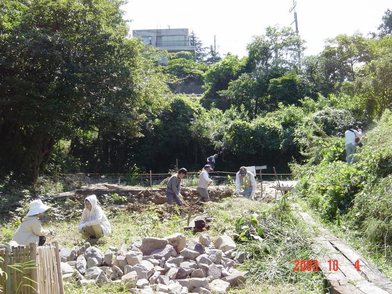 うみべの森の歴史⑯「2003年10月の活動」_c0108460_11450392.jpg