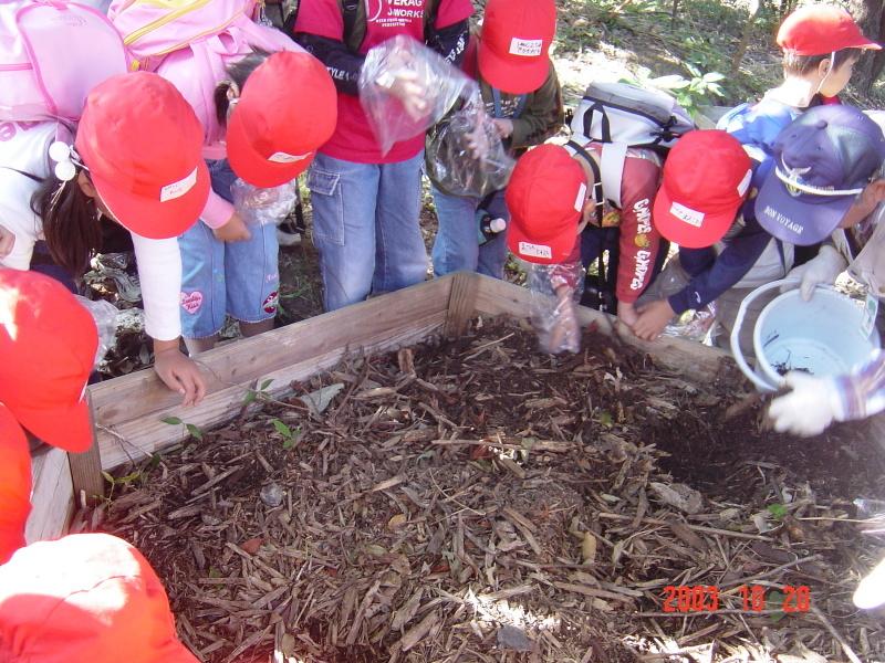 うみべの森の歴史⑯「2003年10月の活動」_c0108460_12004271.jpg