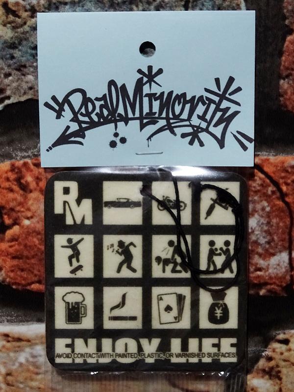 RealMinority リアルマイノリティー エアフレッシュナー (ENJOY LIFE) air freshner:Dark Iceの香り 594円(内税) 入荷_c0094761_10410515.jpg