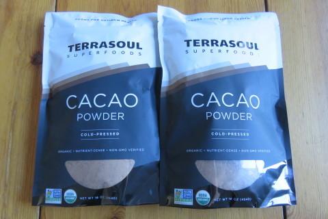 TERRASOUL Raw Cacao Powder _b0209691_15381048.jpg