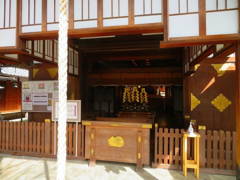 車折神社の境内021303_e0237645_10303623.jpg