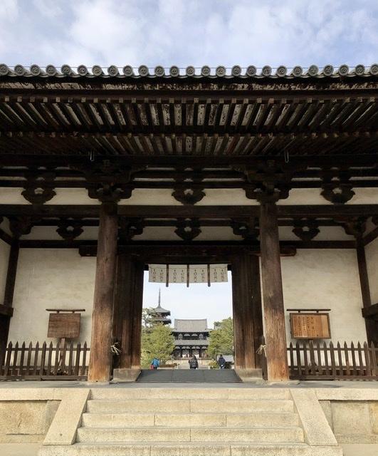 奈良の旅 14 贅沢なひととき 法隆寺_a0092659_17015615.jpeg