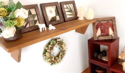 生徒さんの作品をご紹介~シャビーな家具にキルトを配して~_b0194861_10242297.jpg