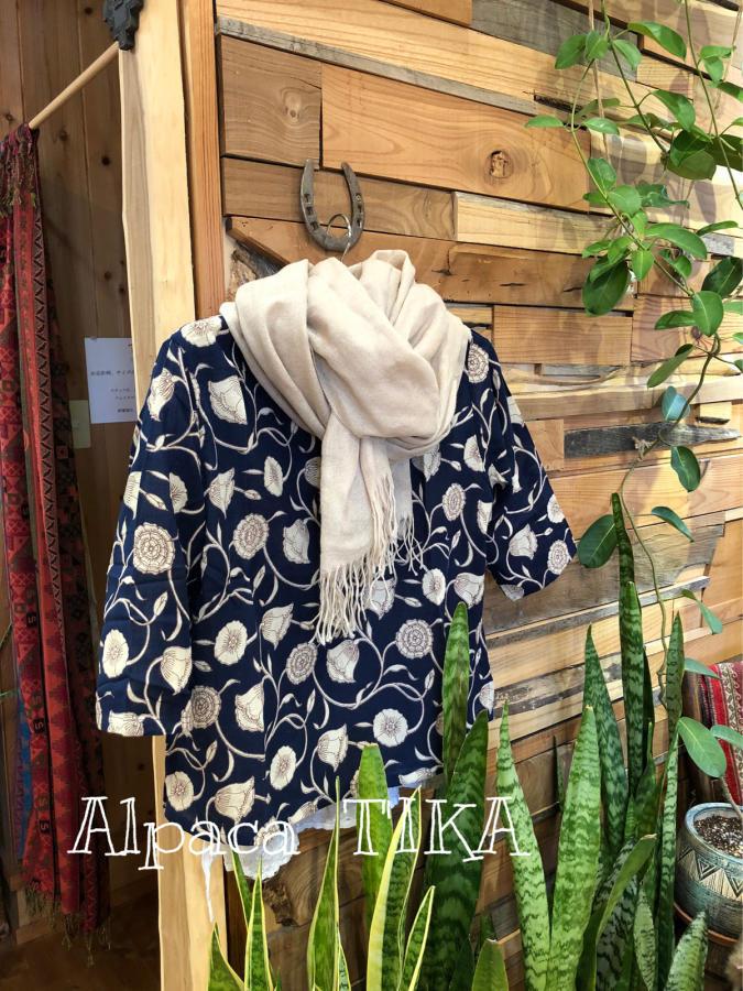 布のお洋服準備中です アンデスの天然石「インカローズ」は春に人気_d0187468_15194924.jpg