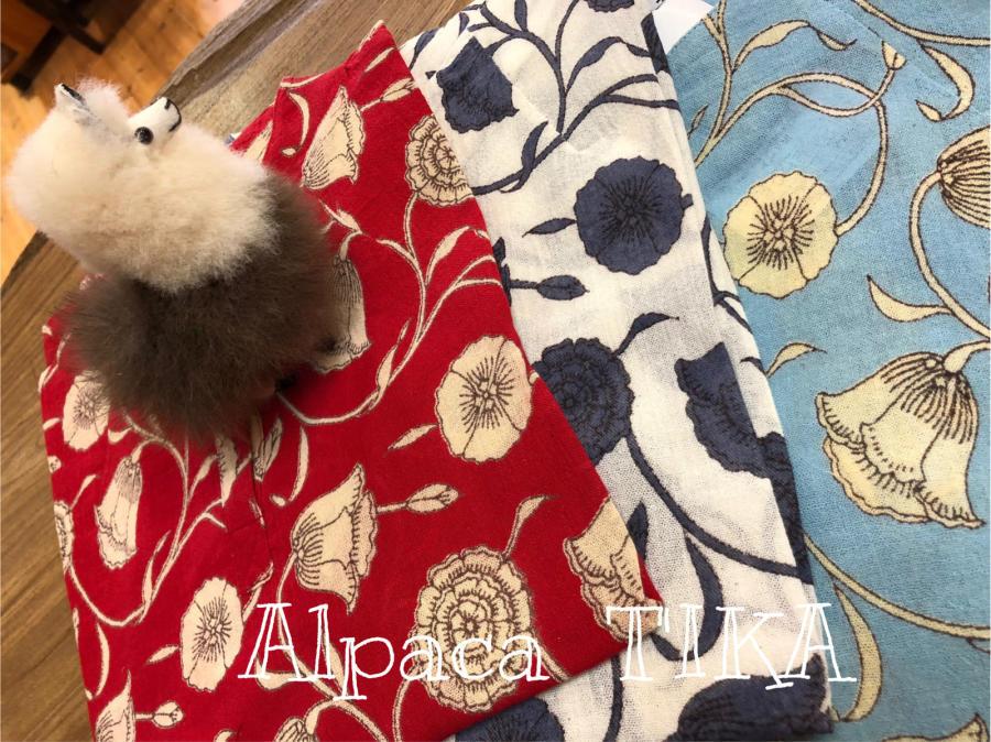 布のお洋服準備中です アンデスの天然石「インカローズ」は春に人気_d0187468_15250223.jpg